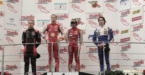 An exciting double podium for Marzio Moretti at the last round of the Italian F4 championship at Mugello (FI).